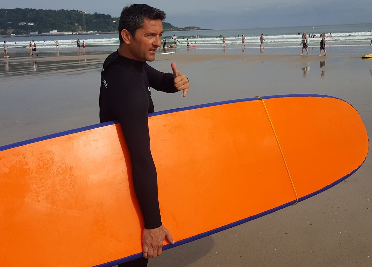 séminaire initiation surf hendaye