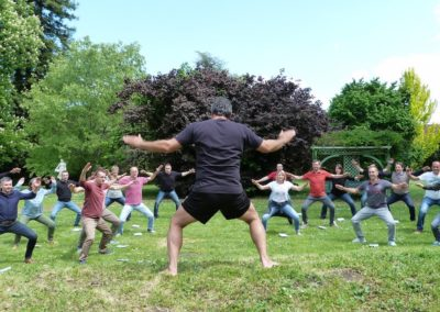 seminaire team building haka
