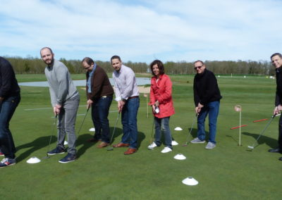 team building golf gironde landes pays basque