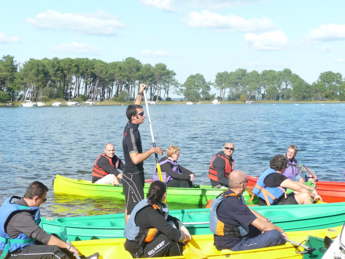 seminaire incentive activite nautique canoe