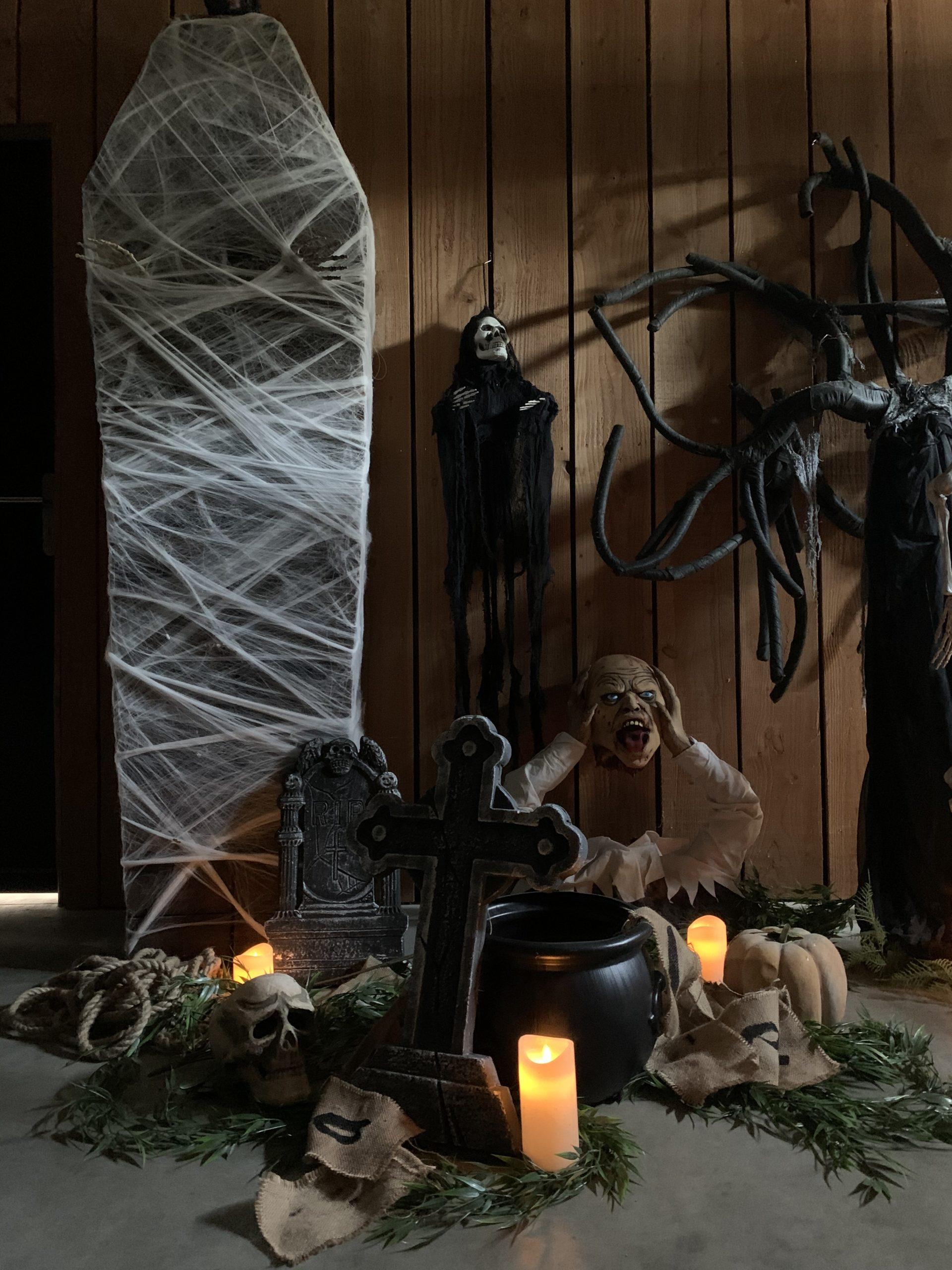 décor soirée halloween